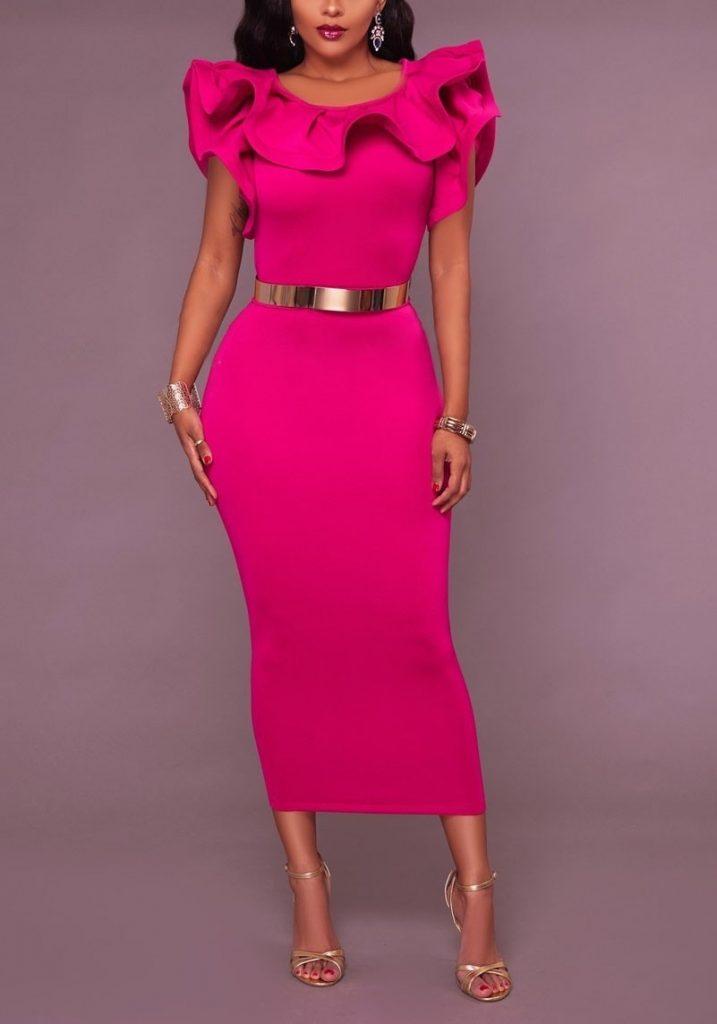 suchen riesige Auswahl an komplettes Angebot an Artikeln 10 Ausgezeichnet Elegante Kleider Midi Bester Preis - Abendkleid