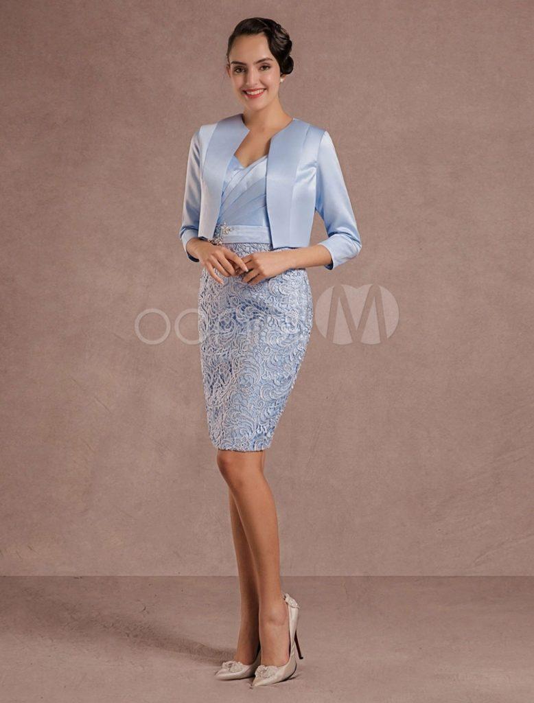 10 Ausgezeichnet Kleid Brautmutter Hochzeit Bester Preis - Abendkleid