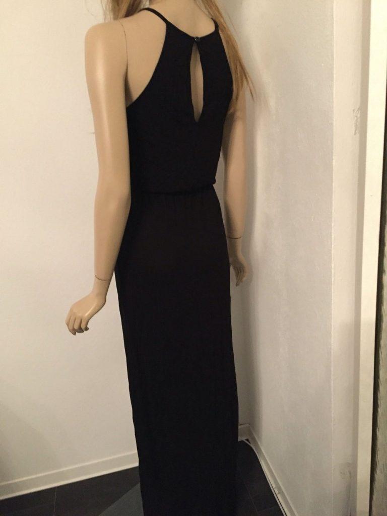 10 Ausgezeichnet Schwarzes Langes Kleid Design - Abendkleid