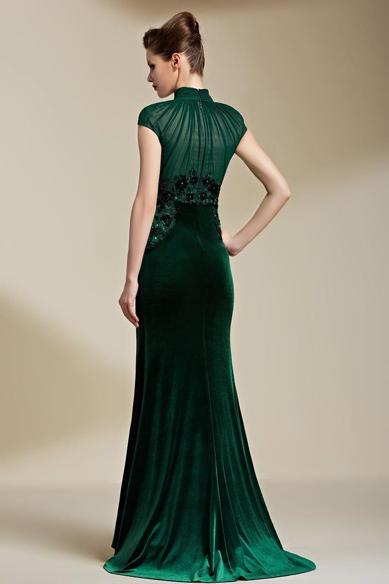 Abend Erstaunlich Grünes Abendkleid Stylish17 Schön Grünes Abendkleid Design