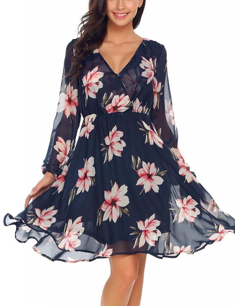 18 Coolste Blumenkleider Damen Vertrieb - Abendkleid