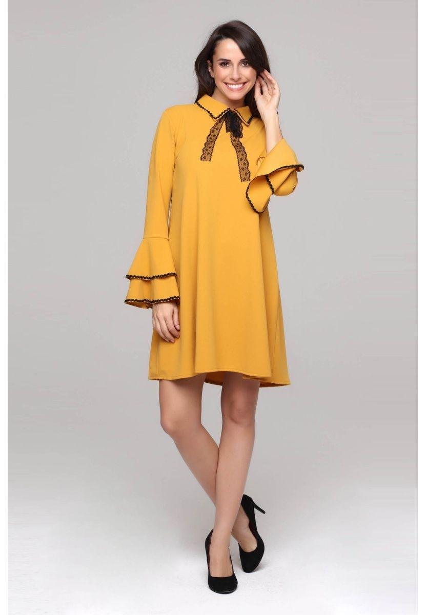 20 Top Kleid Gelb Kurz für 2019 Elegant Kleid Gelb Kurz Stylish