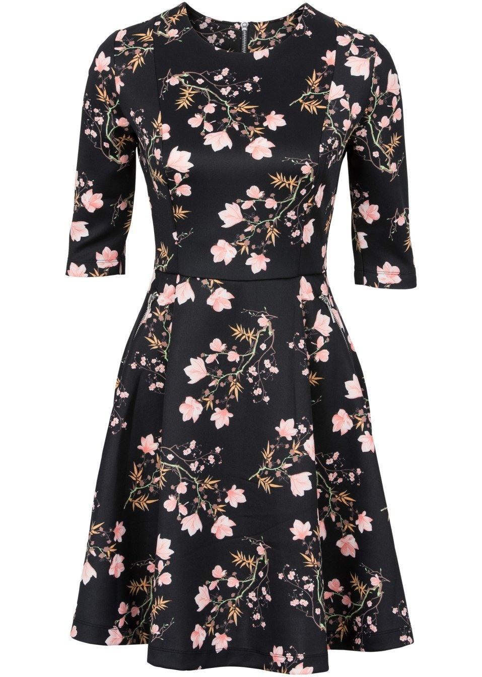 17 Erstaunlich Schwarzes Kleid Mit Roten Blumen Design17 Schön Schwarzes Kleid Mit Roten Blumen Ärmel