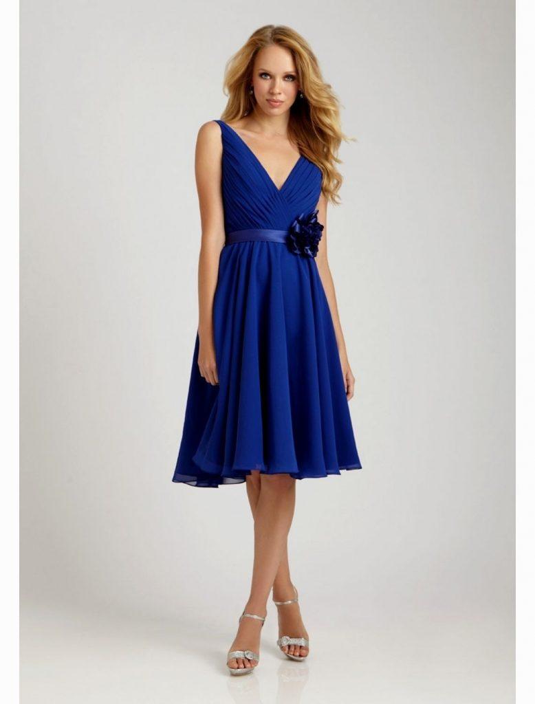 new products 9c51c 6e26d 10 Elegant Knielange Festliche Kleider Design - Abendkleid