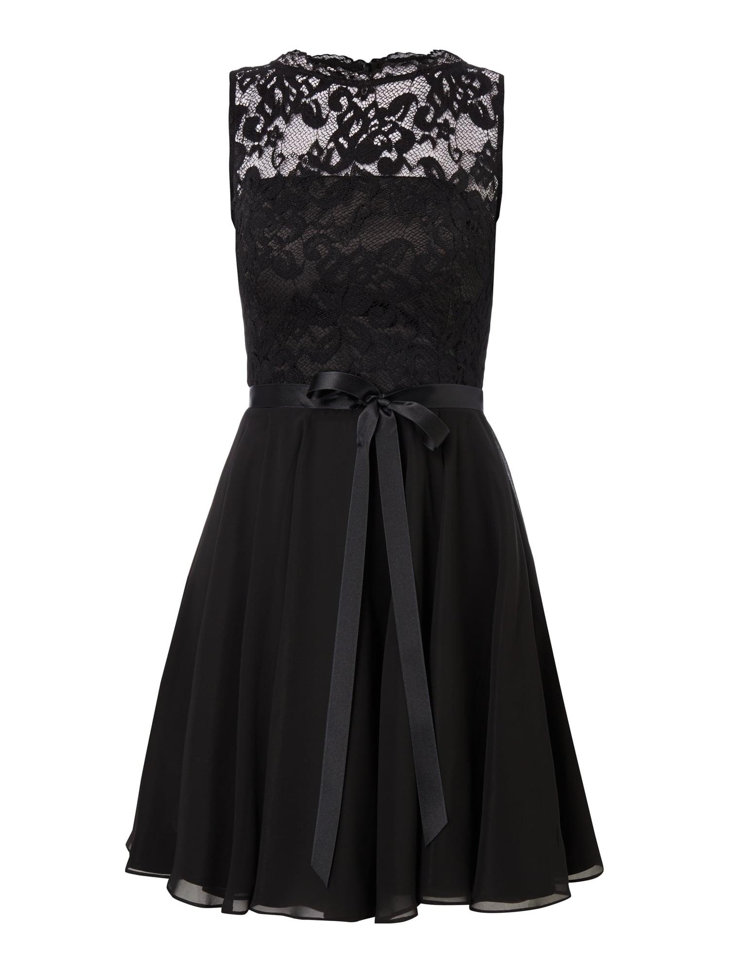 12 Elegant Schwarzes Kleid Spitze für 12 - Abendkleid