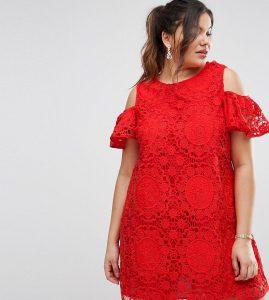 Formal Spektakulär Spitzenkleid Rot für 201920 Leicht Spitzenkleid Rot Design