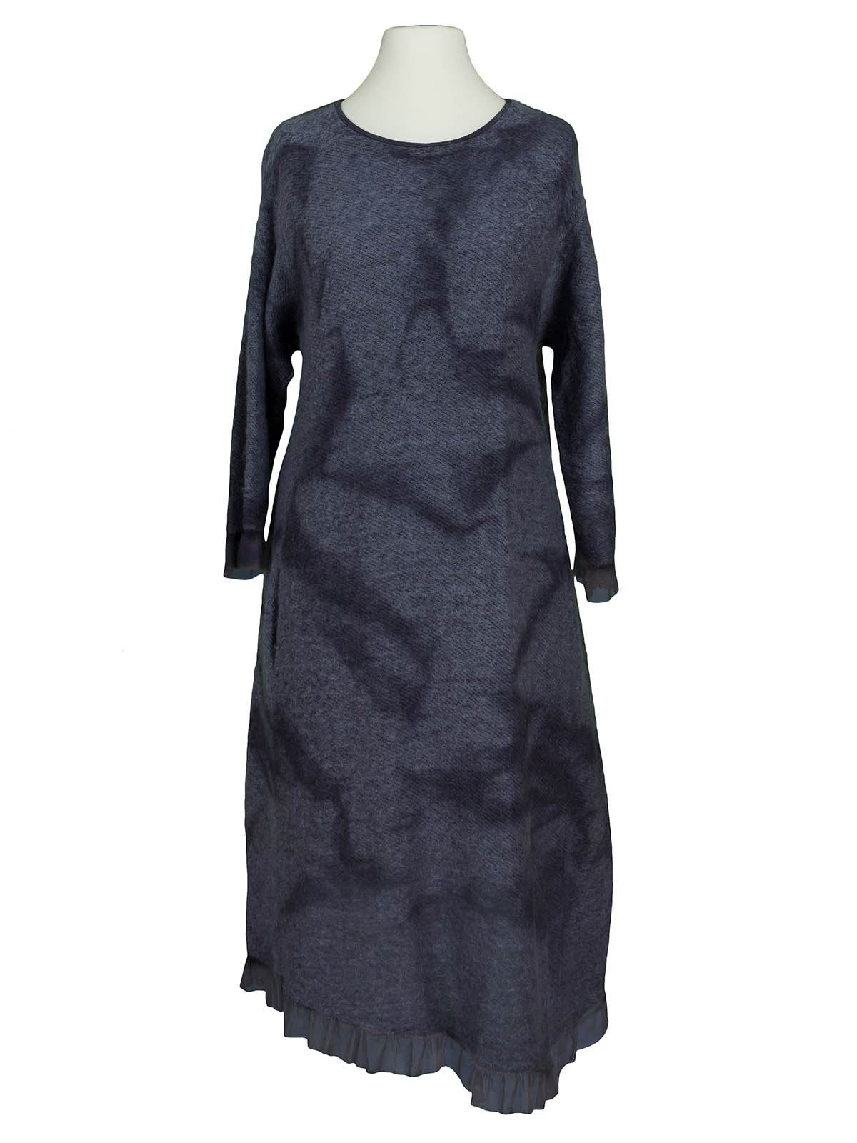 Abend Ausgezeichnet Strickkleid Blau Vertrieb17 Großartig Strickkleid Blau Design