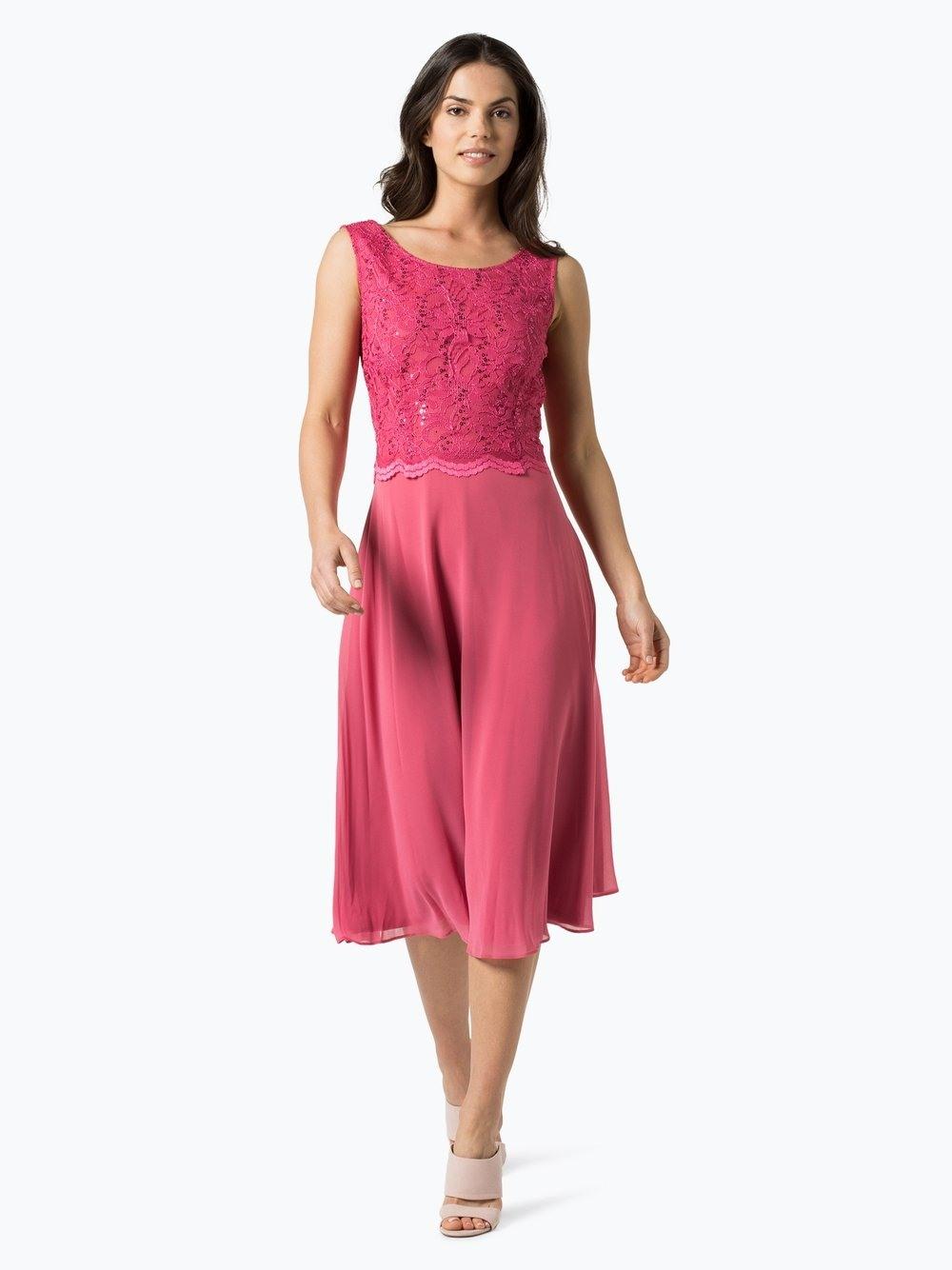 Perfekt Abendkleid Pink Ärmel20 Luxus Abendkleid Pink Galerie