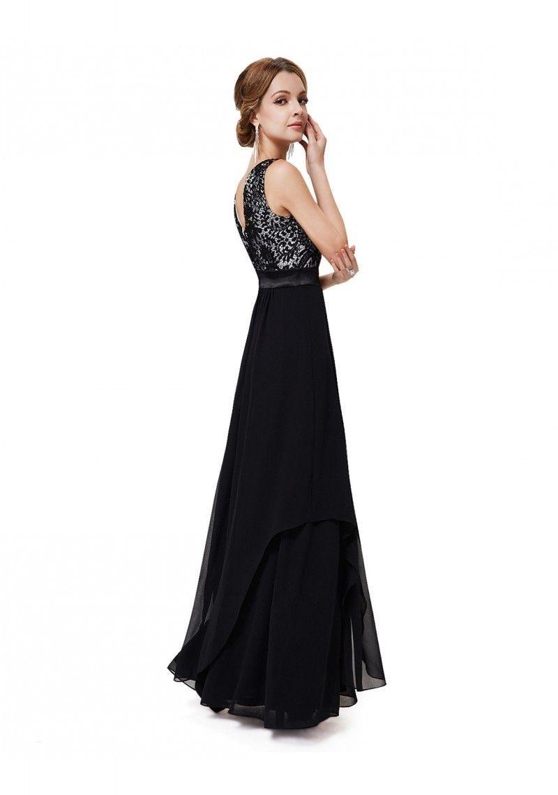 Abend Leicht Abendkleid Schwarz Elegant BoutiqueFormal Luxurius Abendkleid Schwarz Elegant Bester Preis