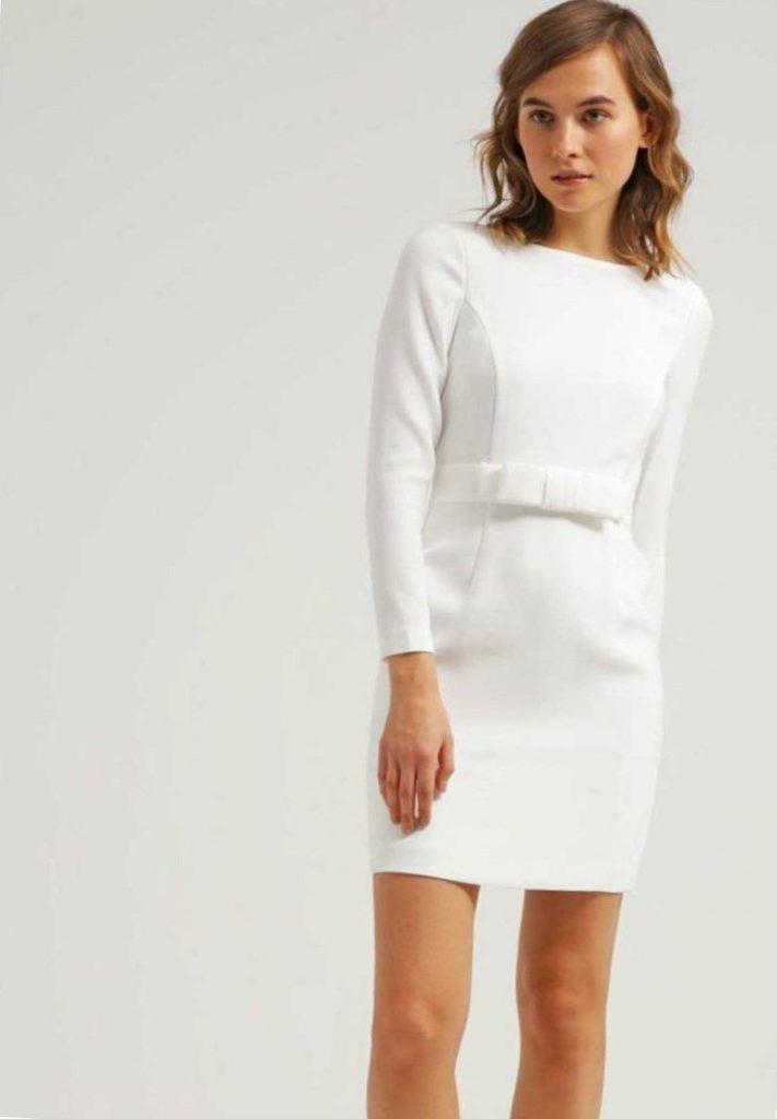 wholesale dealer c008f 8249d 10 Fantastisch Weißes Kleid Langarm Spezialgebiet - Abendkleid