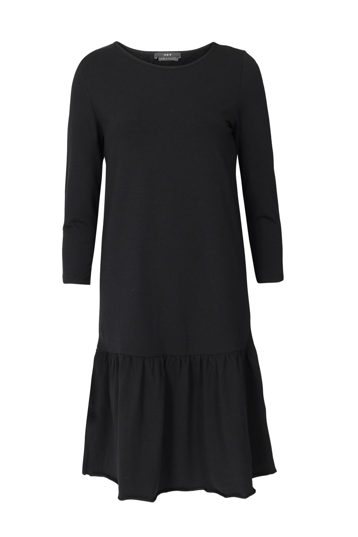 Schön Kleid Schwarz Baumwolle Ärmel20 Luxus Kleid Schwarz Baumwolle Bester Preis