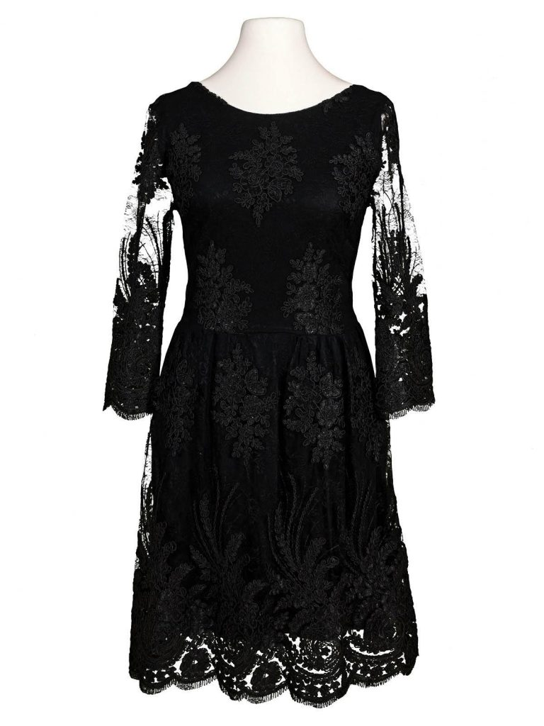 10 Kreativ Spitzenkleid Schwarz Stylish - Abendkleid