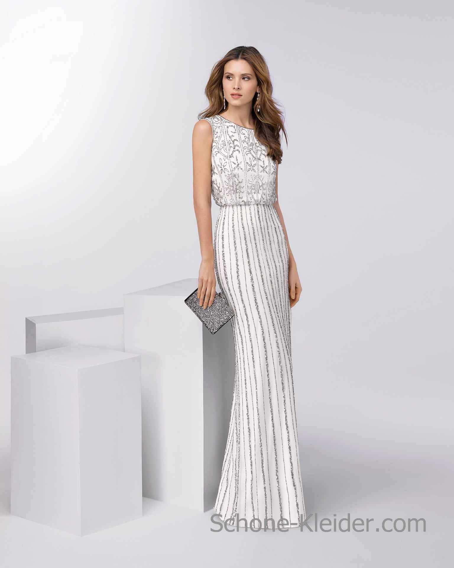 17 Leicht Elegante Weiße Kleider Galerie - Abendkleid