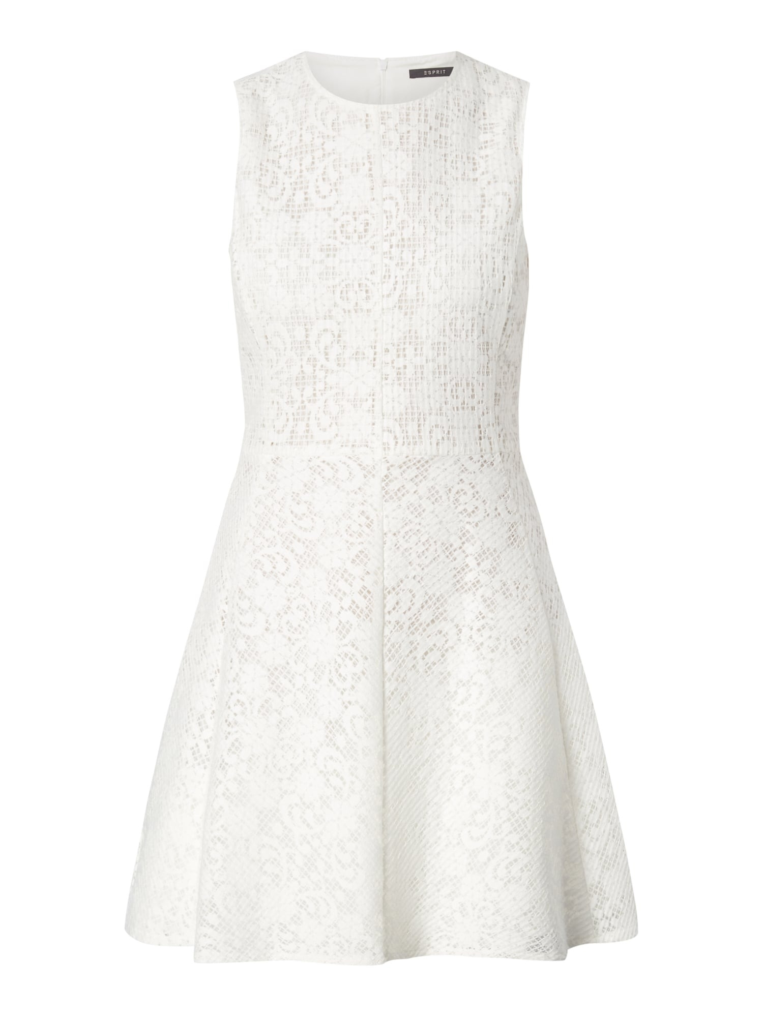 Elegant Kleid Weiß Spitze für 201920 Einfach Kleid Weiß Spitze Ärmel