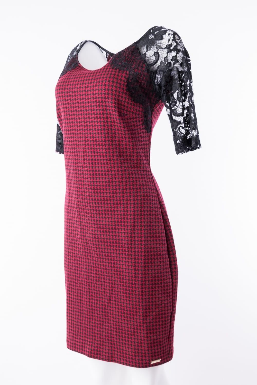 Abend Cool Rot Schwarzes Kleid StylishDesigner Schön Rot Schwarzes Kleid Bester Preis
