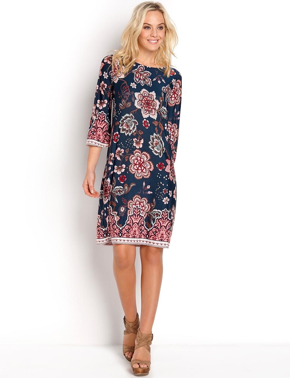 Formal Großartig Kleid Mit Blumenprint Vertrieb20 Genial Kleid Mit Blumenprint Bester Preis