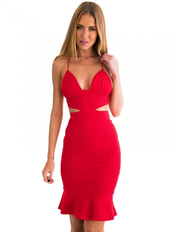 13 Ausgezeichnet Rotes Kleid Langarm Design13 Schön Rotes Kleid Langarm Bester Preis