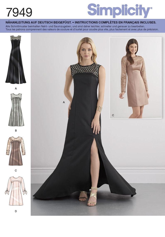 10 Luxurius Schnittmuster Abendkleid SpezialgebietFormal Spektakulär Schnittmuster Abendkleid Stylish