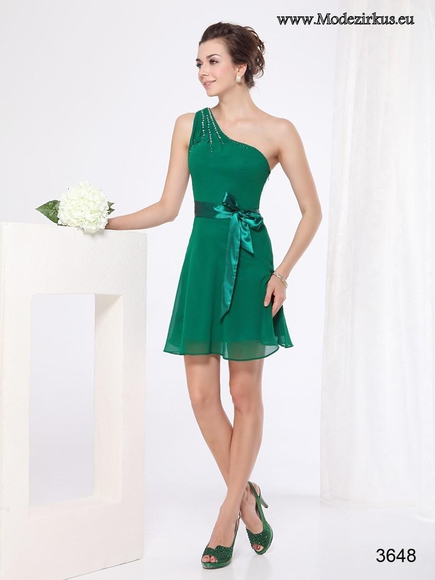 Formal Genial Grünes Kleid Knielang ÄrmelDesigner Schön Grünes Kleid Knielang Design