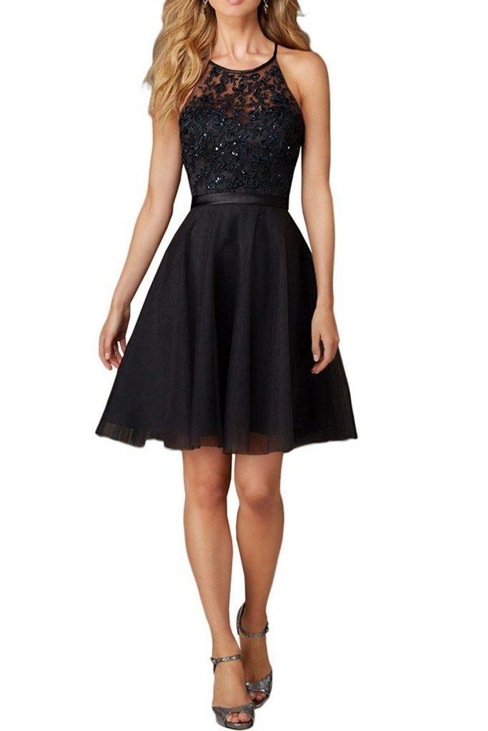 lowest price 31e96 6c0af 10 Luxus Kleider Festlich Kurz Ärmel - Abendkleid