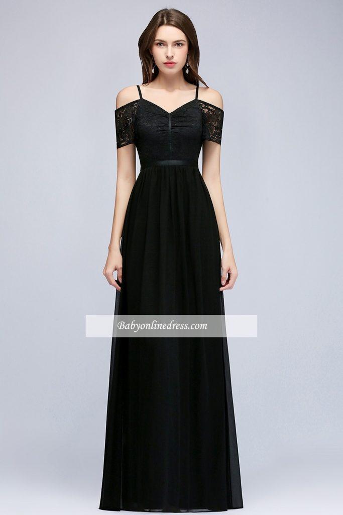 pretty nice 02060 09dde 10 Perfekt Abendkleid Lang Schwarz Schlicht Stylish - Abendkleid