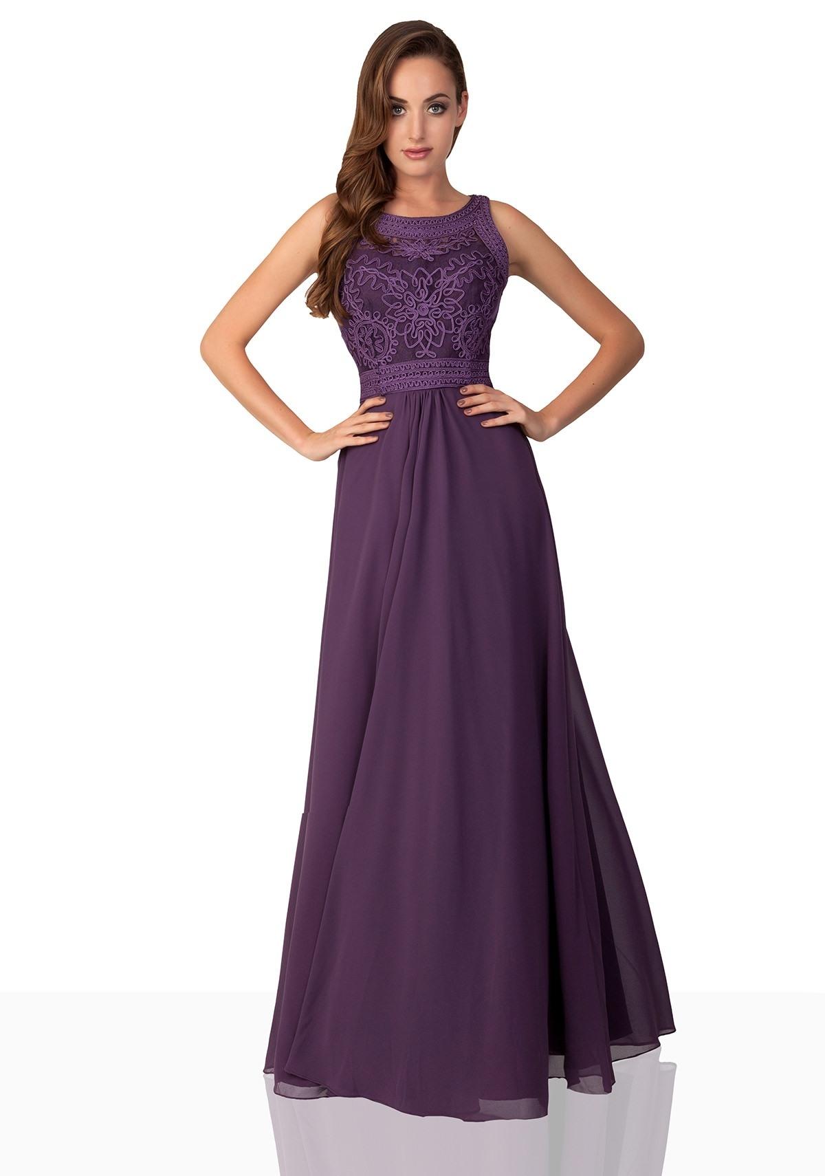 Abend Top Abendkleid Lila für 2019Formal Einfach Abendkleid Lila Stylish