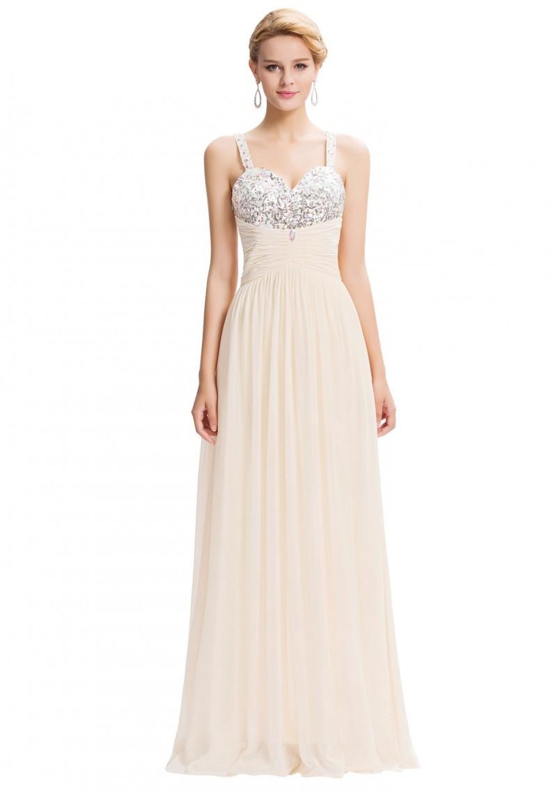 10 Luxurius Abendkleid Beige Lang Spezialgebiet20 Leicht Abendkleid Beige Lang Ärmel
