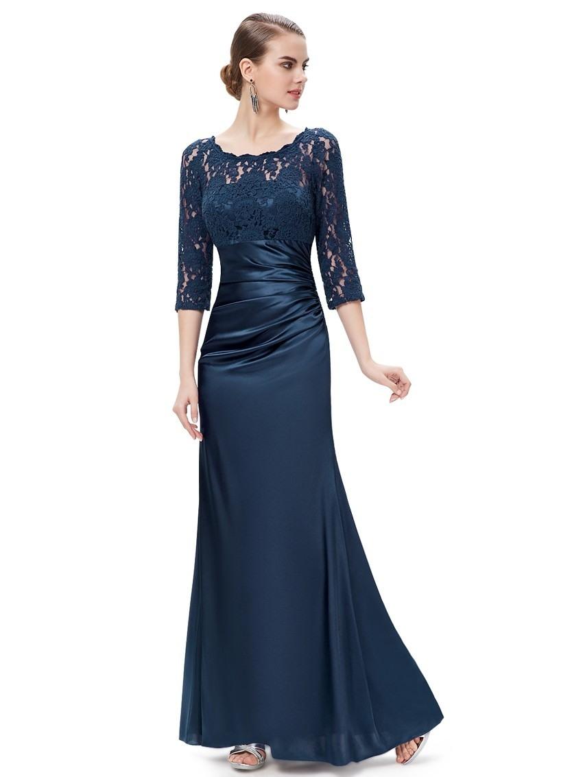 20 Wunderbar Blaues Kleid Mit Ärmeln Spezialgebiet10 Genial Blaues Kleid Mit Ärmeln Design