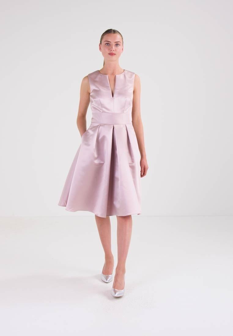 20 Wunderbar Kleid Altrosa Knielang Vertrieb15 Schön Kleid Altrosa Knielang Galerie