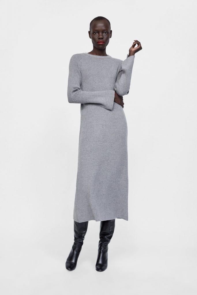 online retailer b9bba 1d65b 10 Schön Langes Strickkleid Spezialgebiet - Abendkleid