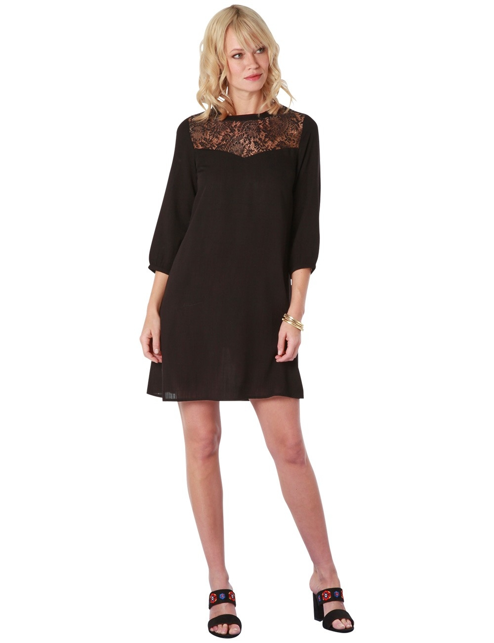 20 Genial Schwarzes Kleid Spitze Ärmel15 Einzigartig Schwarzes Kleid Spitze Bester Preis