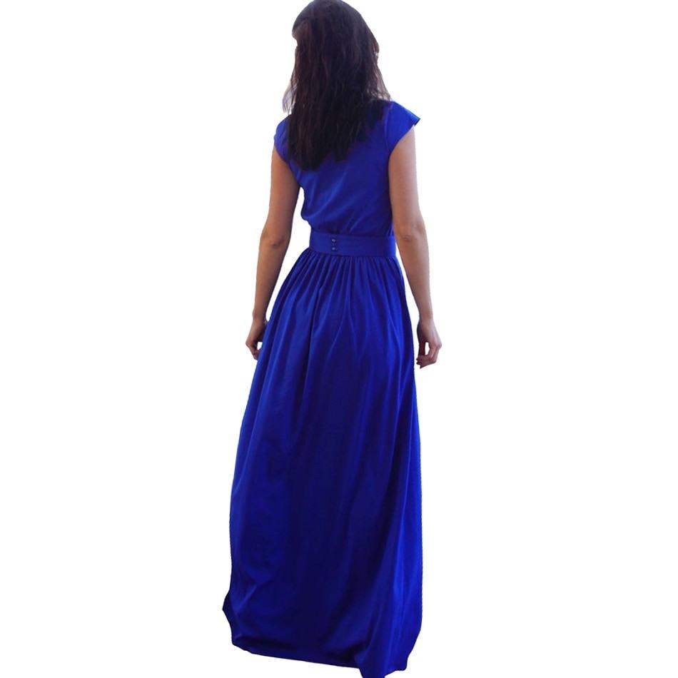 10 Schön Kleid Lang Blau ÄrmelFormal Schön Kleid Lang Blau Vertrieb
