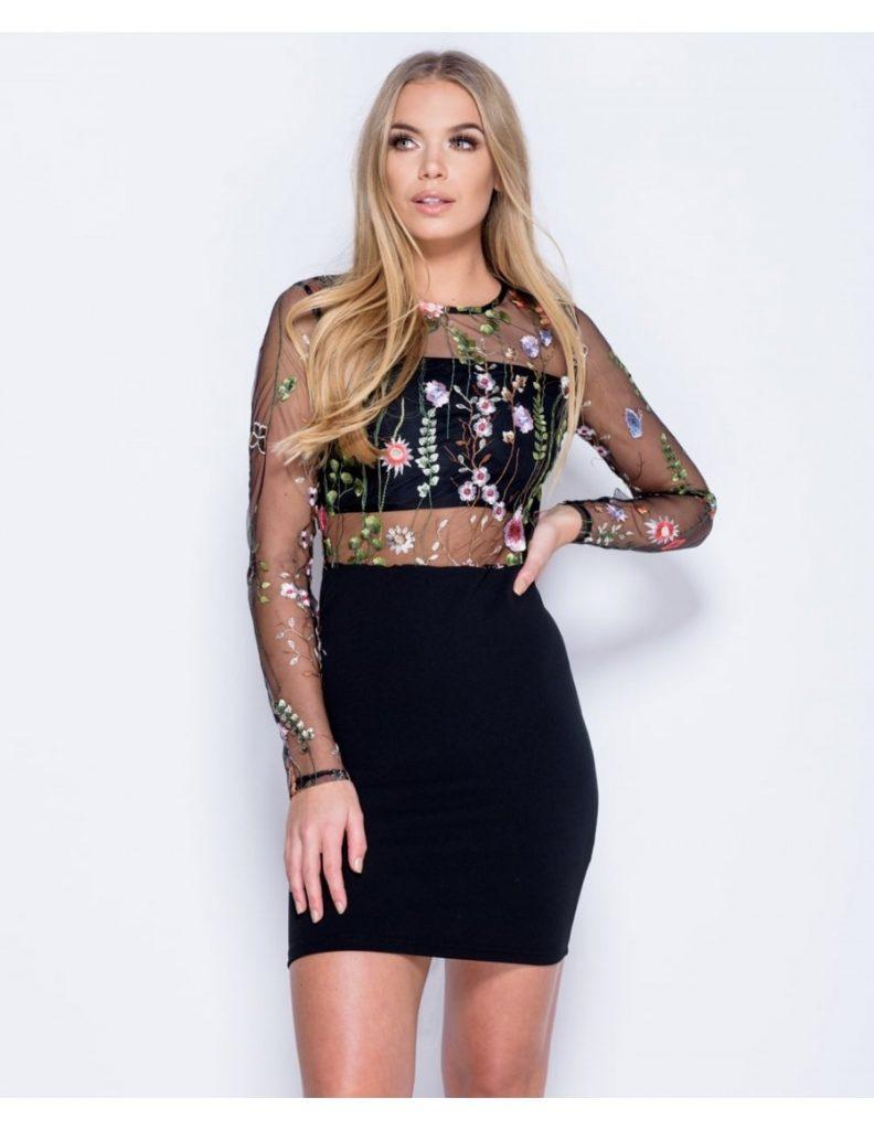 10 top schwarze kurze kleider Ärmel - abendkleid