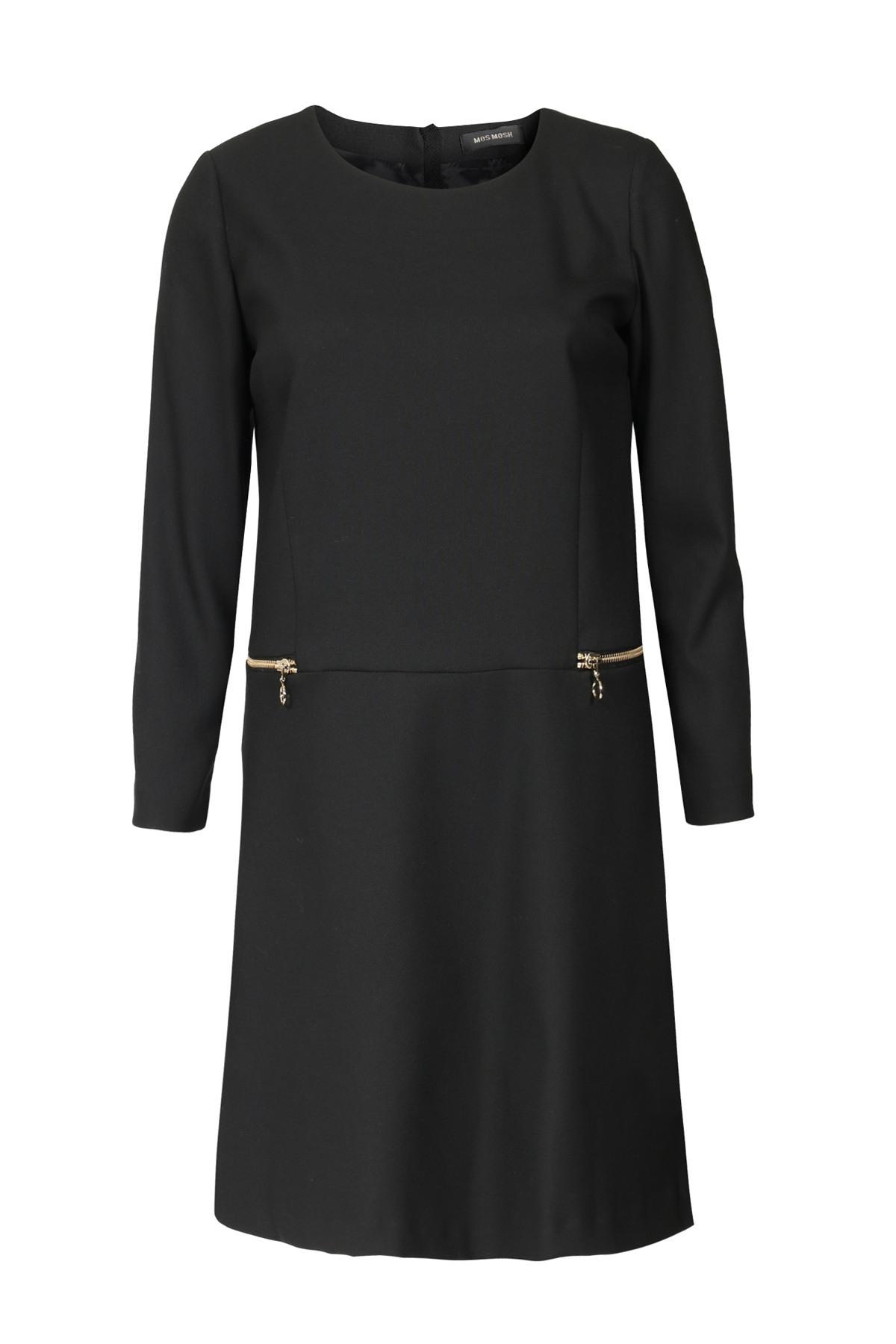 Abend Schön Schwarzes Langarm Kleid Ärmel15 Perfekt Schwarzes Langarm Kleid Spezialgebiet