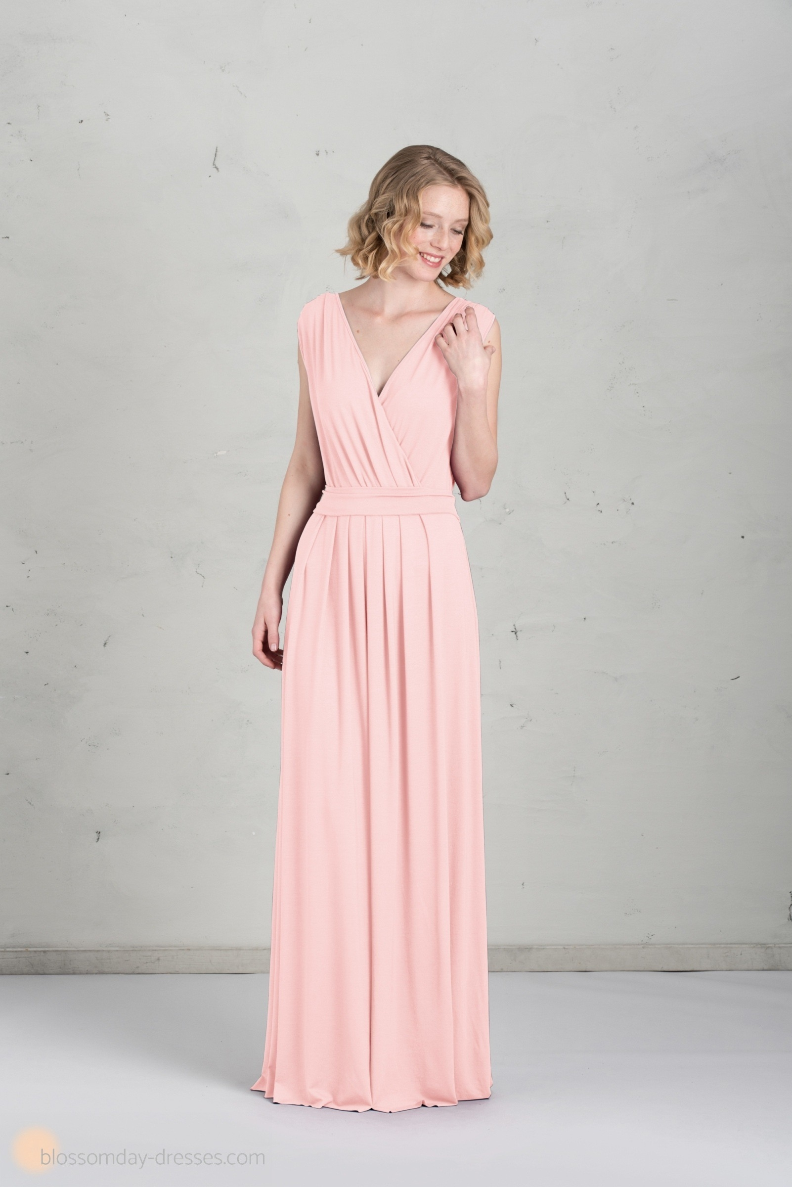 Luxus Kleid Altrosa Lang SpezialgebietFormal Genial Kleid Altrosa Lang Design