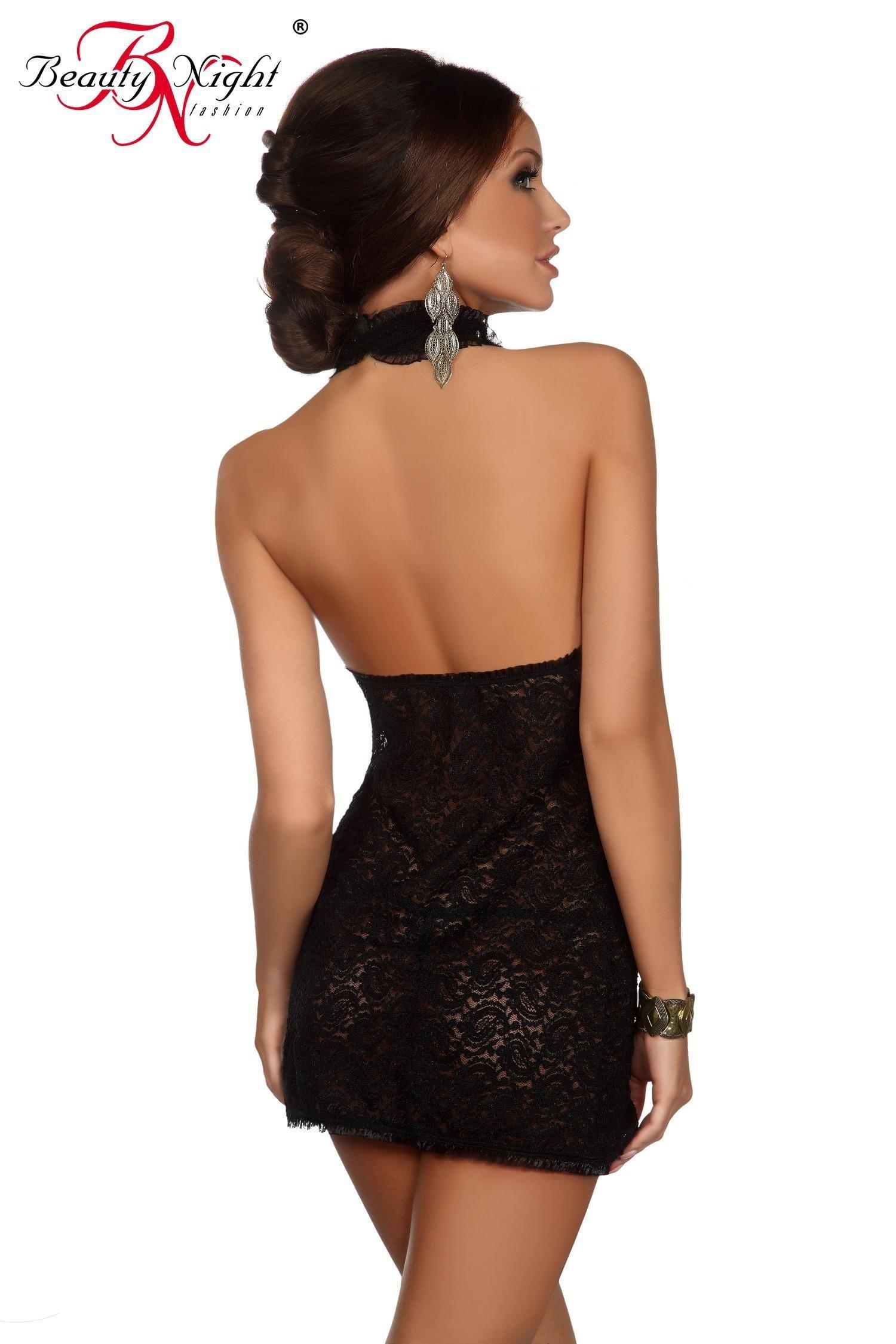 16 Cool Schwarzes Kurzes Kleid Mit Spitze Ärmel - Abendkleid