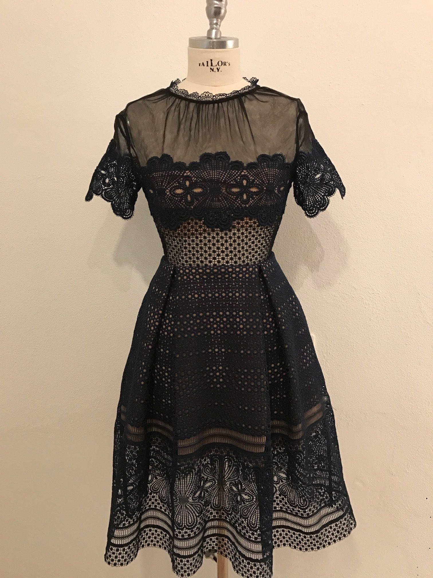 Großartig Kleid Dunkelblau Spitze Stylish17 Schön Kleid Dunkelblau Spitze Stylish