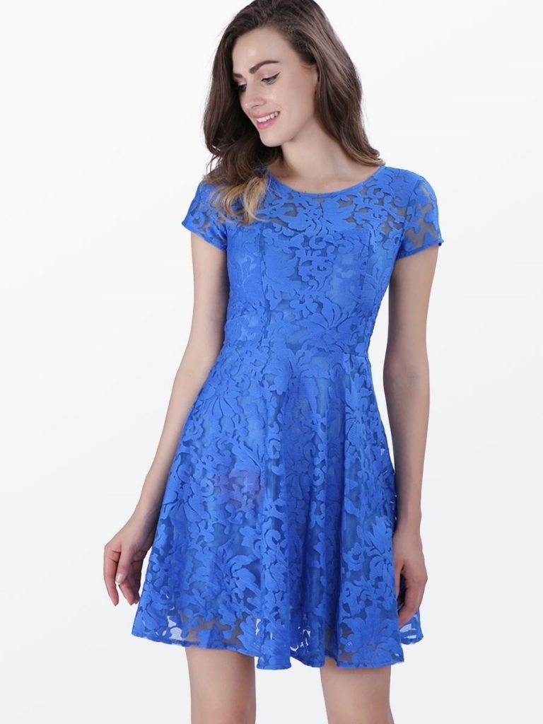 13 Coolste Kleid Kurz Blau Design - Abendkleid