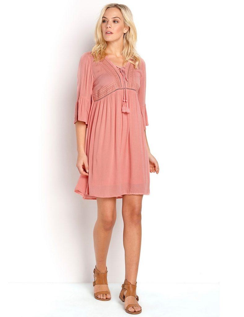 13 Einfach Altrosa Kleid Mit Spitze Galerie - Abendkleid