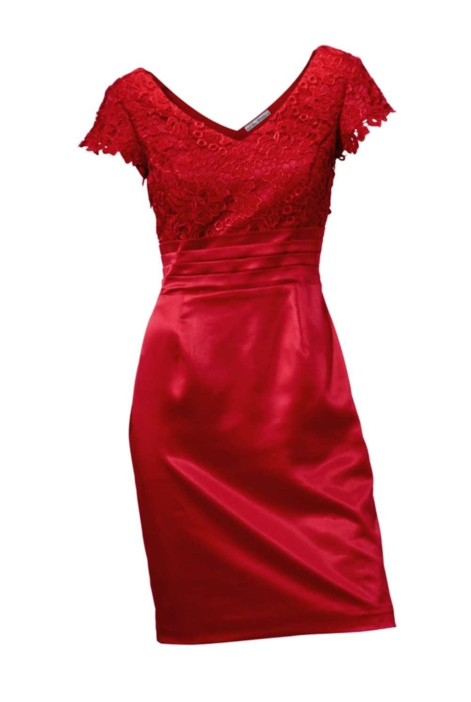 Formal Großartig Spitzenkleid Rot Boutique15 Top Spitzenkleid Rot Ärmel