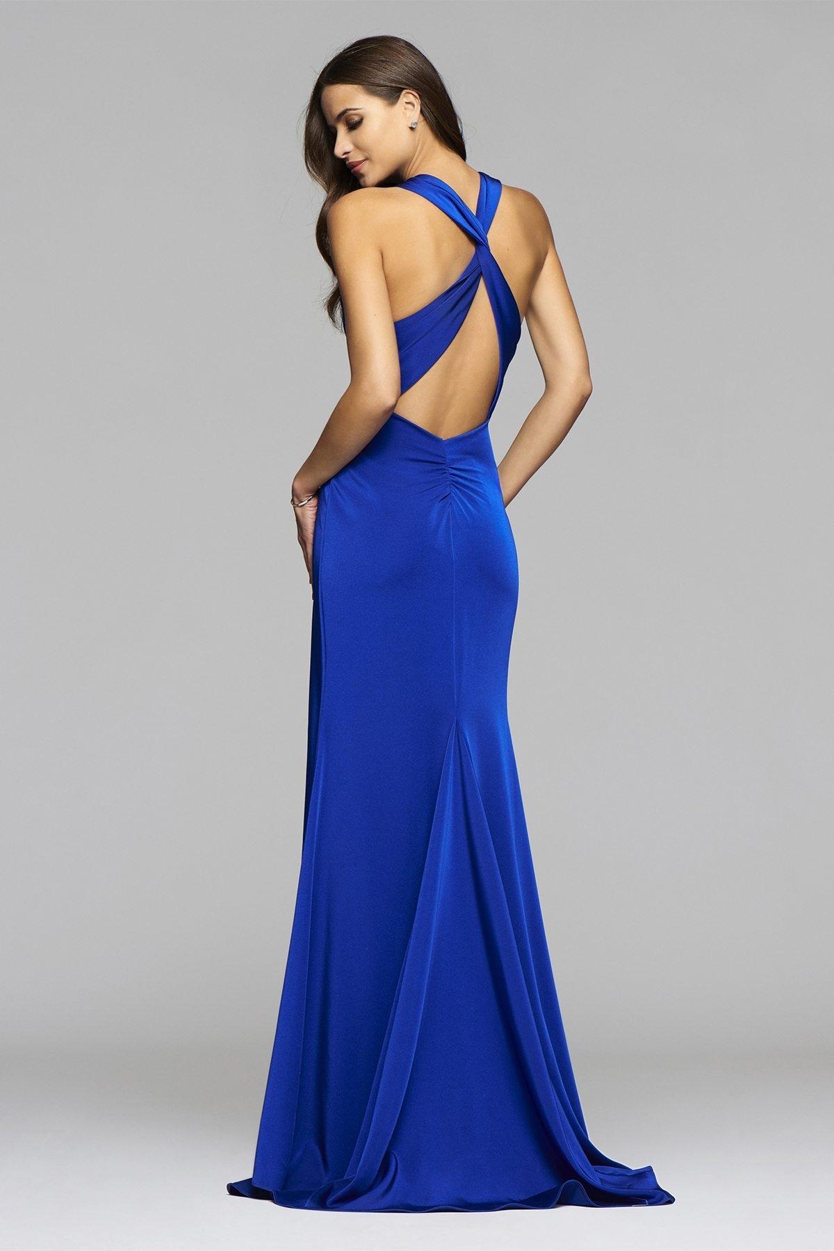 15 Genial Abendkleid Blau Ärmel10 Schön Abendkleid Blau Bester Preis