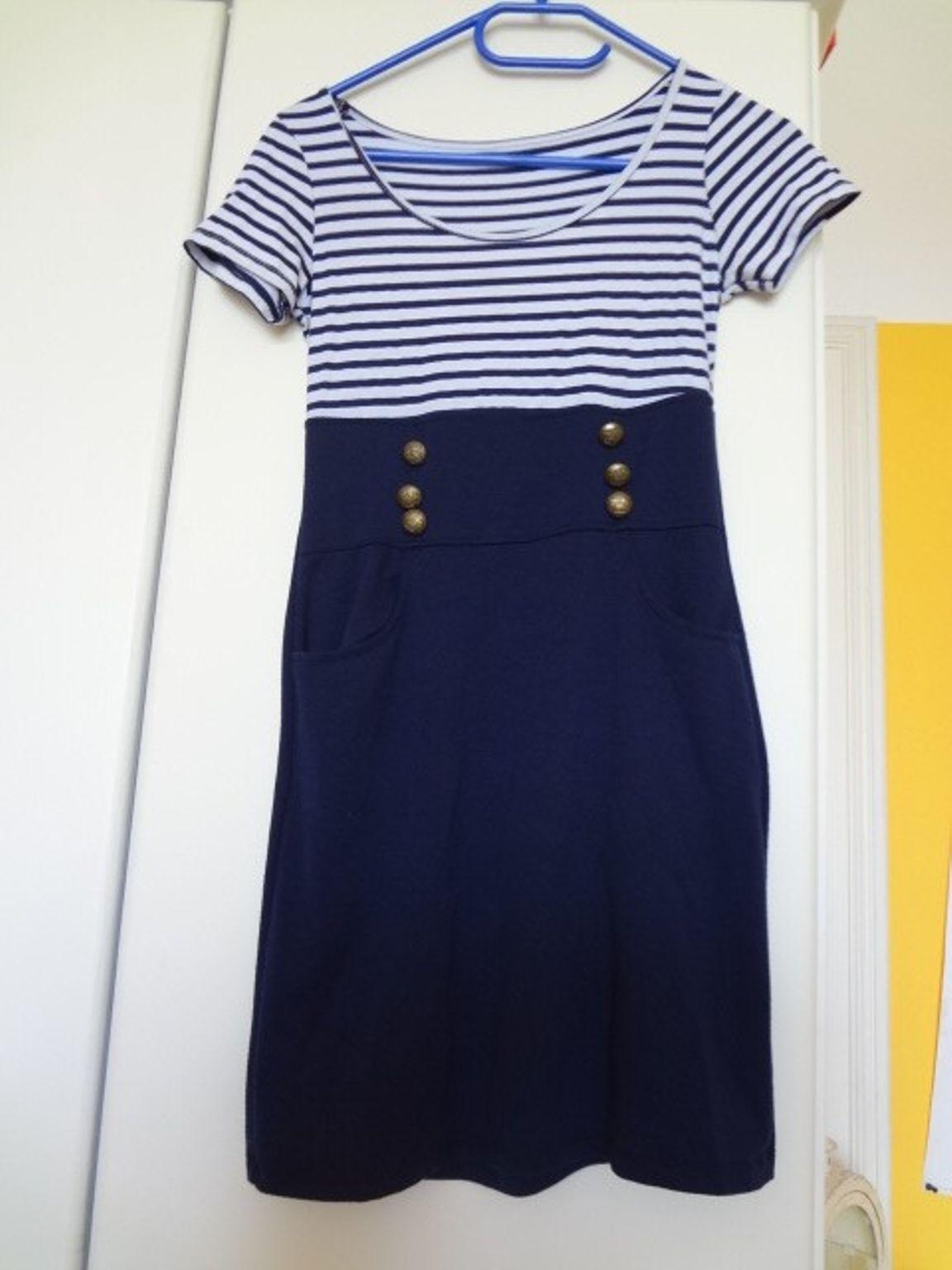 Formal Schön Blau Weißes Kleid Bester Preis17 Einzigartig Blau Weißes Kleid für 2019