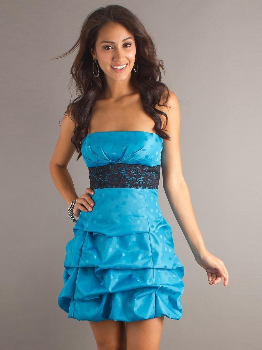 13 fantastisch kleid hellblau kurz galerie - abendkleid