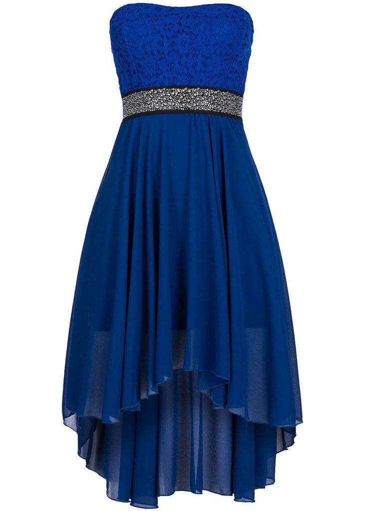 timeless design beb97 6790f 13 Genial Blaues Kleid Kurz Galerie - Abendkleid
