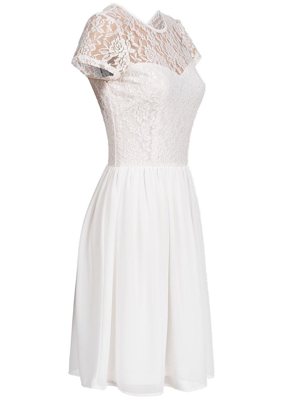 Abend Kreativ Kleid Weiß Glitzer SpezialgebietDesigner Genial Kleid Weiß Glitzer Spezialgebiet