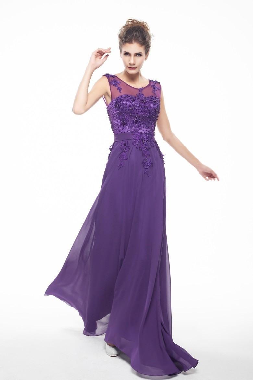 Abend Luxus Abendkleid Lila SpezialgebietFormal Einfach Abendkleid Lila Boutique