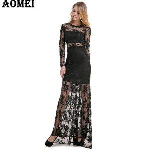 15 Schön Kleid Mit Spitze Lang Design Wunderbar Kleid Mit Spitze Lang Design