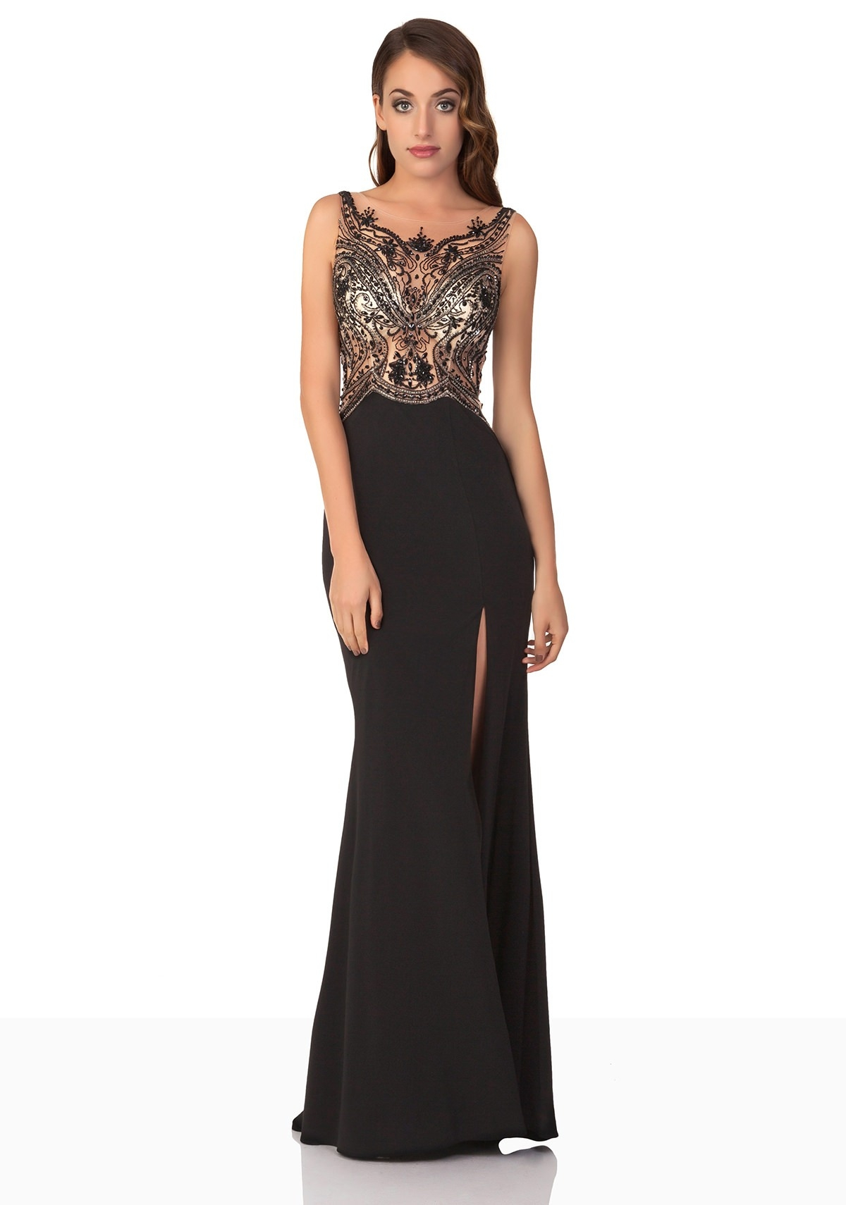 Formal Luxus Abendkleid Schlicht Spezialgebiet15 Fantastisch Abendkleid Schlicht Ärmel