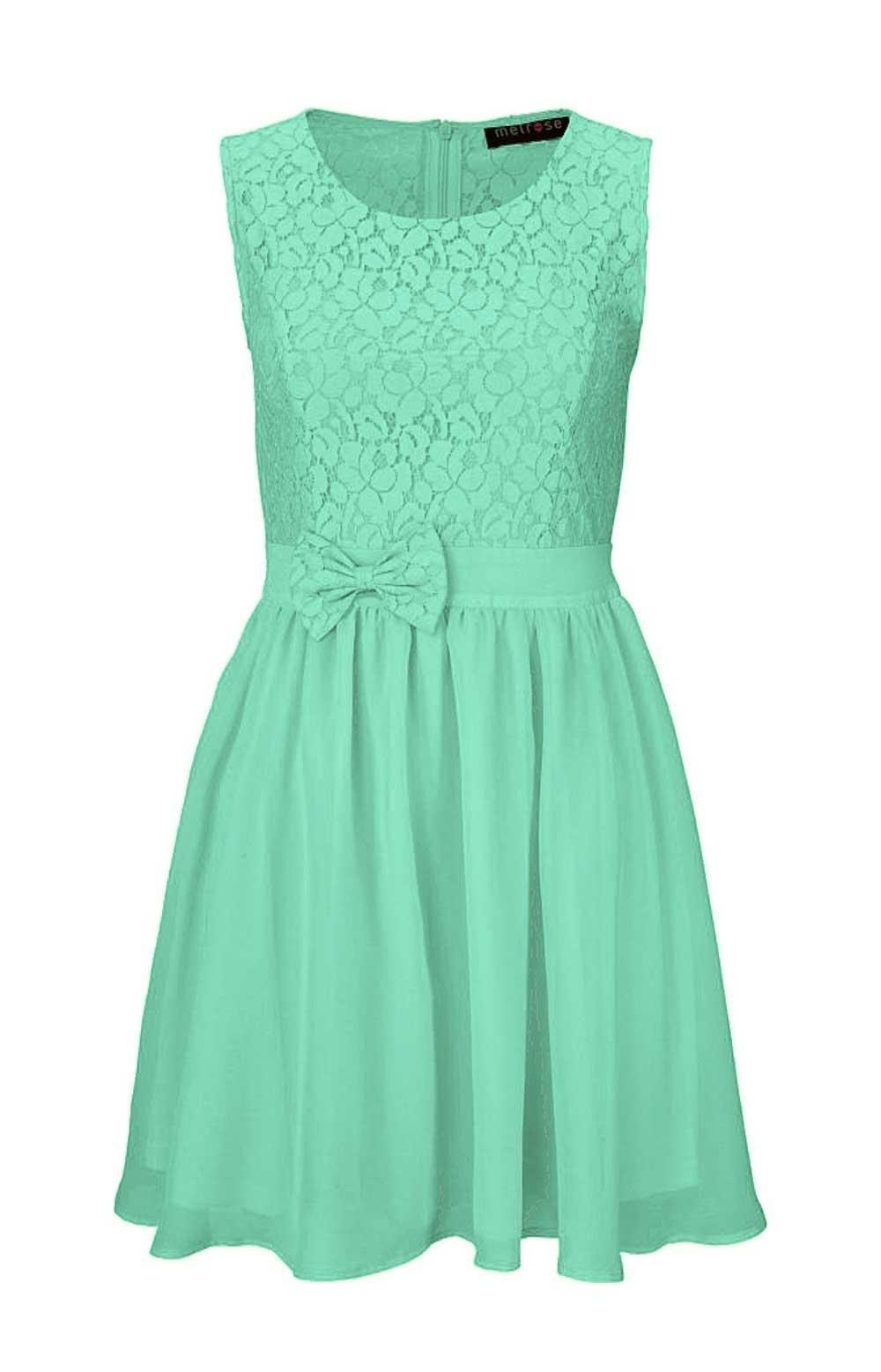 20 Luxus Kleid Türkis Spitze für 20 - Abendkleid