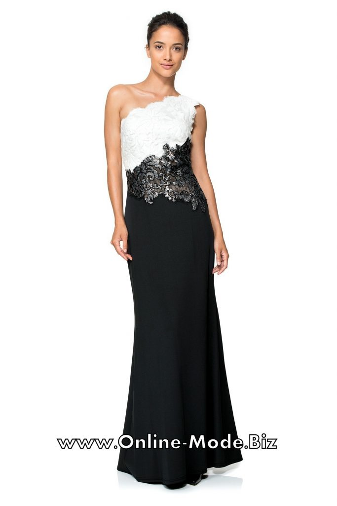 caada09ca790f5 17 Elegant Abendkleid Schwarz Weiß Lang Boutique : 13 Schön Abendkleid  Schwarz Weiß Lang Ärmel